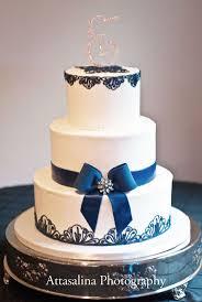 Big Wedding Cakes Navy Blue Wedding Cake Cake Ideas