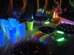 glow party supplies glow in the party dwell in the garden