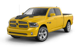 Dodge 3500 Truck Colors - limited edition 2016 ram 1500 stinger yellow sport revealed