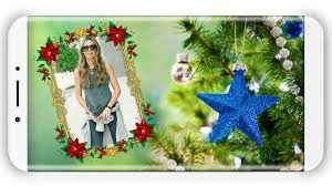 Christmas Tree Picture Frames Christmas Photo Frames Android Apps On Google Play