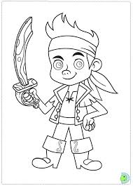 jake neverland pirates coloring dinokids org
