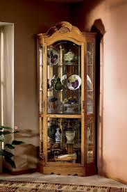curio cabinet impressive small corner curio cabinets pictures