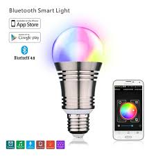 color changing light bulb with remote smart bluetooth led bulb su 650 e27 rgbw remote control color