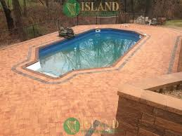 Types Of Patio Pavers by Pool Patio Pavers Island Paving And Masonry