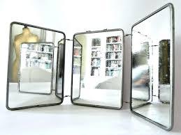 3 door medicine cabinet 3 way mirror freeiam