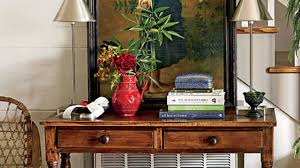 decorating with antique console tables southern living