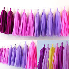 tissue paper tassels picture more detailed picture about 1 bag