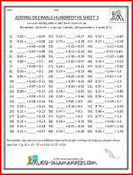 decimals tenths place tens place decimal and worksheets