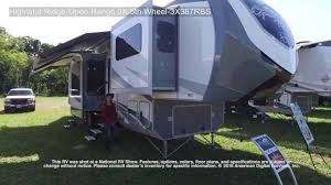 Open Range Fifth Wheel Floor Plans by Highland Ridge Open Range 3x 5th Wheel 3x387rbs Youtube