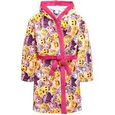 emoji robe emoji girls aop robe 17 liked on polyvore featuring intimates