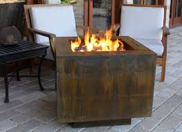Bond Propane Fire Pit Square Hidden Propane Tank Fire Pit Cor Ten Square Fire Pit And