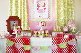 Strawberry Shortcake Party Lillian Hope Designs