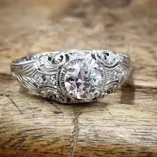 wedding rings vintage vintage filigree wedding engagement rings whitehouse brothers