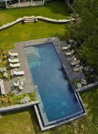 Inground Pool Ideas Best 25 Rectangle Pool Ideas Only On Pinterest Backyard Pool