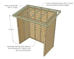 How To Make A Shed House by Ana White Small Cedar Fence Picket Storage Shed Diy Projects