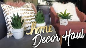 cactus home decor home decor haul target u0026 home goods youtube