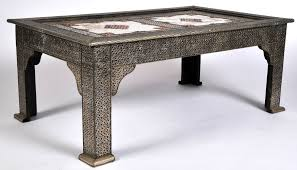 furniture metal coffee tables ideas golden rectangle antique