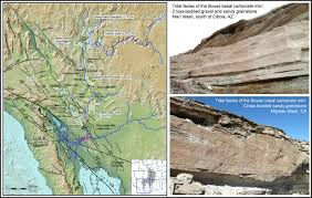 Colorado River Basin Map by Bouse Formation Project