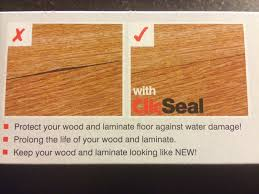 unika clic seal laminate wood floor joint sealer waterproofing