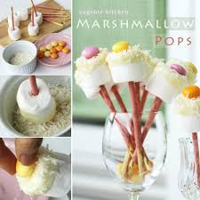 marshmallow pops recipe 100 edible flowers party ideas