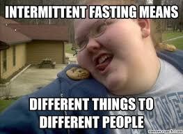 Fasting Meme - fasting