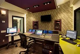 Recording Studio Desk Design by Jungle City Studios Home