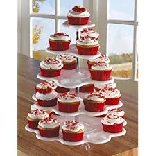 cup cake holder 5 tiered cupcake holder stand tower white holds 27