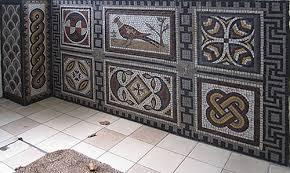 Roman Mosaics Roman Wall Mosaic - Wall mosaic designs