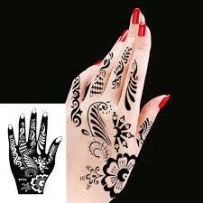ink india henna design simply stencil mehndi