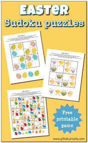easter sudoku free printables gift of curiosity