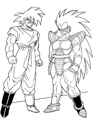 free coloring pages of dragons dragonball z coloring pages dragon ball z goku super saiyan four