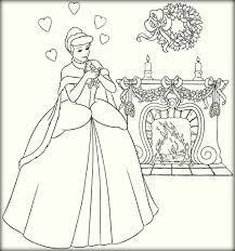 disney princess cinderella coloring pages color zini
