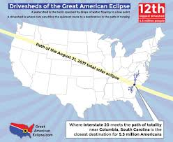 map of oregon to south carolina statistics total solar eclipse of aug 21 2017
