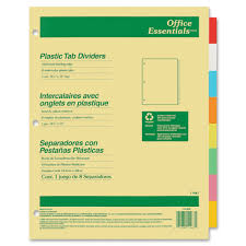 avery 11467 index maker translucent multi label dividers 8 tab s