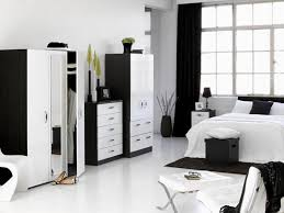 beautiful black and white bedroom furniture pictures decorating