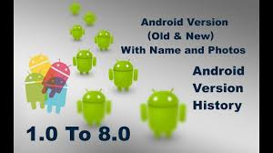 list of android versions list of android past versions and android os version with