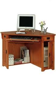 mission oak corner computer desk small oak corner computer desk 16 best office images on pinterest