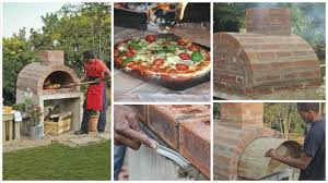 phenomenal idea that shows how to build a homemade pizza oven