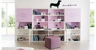 bureau avec etagere bureau en bois contemporain avec étagère pour enfant