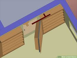 Building Wood Shelves In Shed by How To Build Shelves With Pictures Wikihow