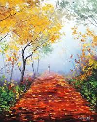 Impressionist Landscape Painting by Graham Gercken 1960 Impressionist Landscape Impressionist And