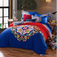 What Size Is King Size Duvet Cover High Qualit Bed Sheet Luxury 3d Print Floral Bedding Sets
