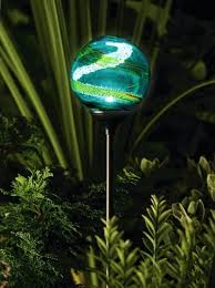 solar powered patio lights solar globe lights garden collection in solar light garden decor