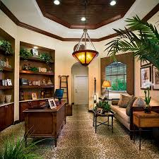 Vintage Desks For Home Office by Office Rattan Tropical Home Office With Vintage Desk And Rattan