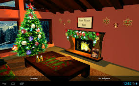 3d christmas fireplace hd live wallpaper android apps on google play