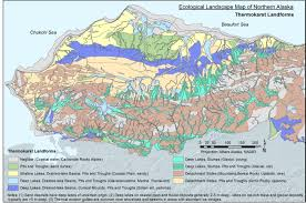 Alaska Zip Code Map by Permafrost Characterization And Mapping Arctic Lcc