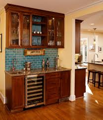 Wet Kitchen Cabinet Marvelous Mini Kegerator In Kitchen Eclectic With Basement Wet Bar