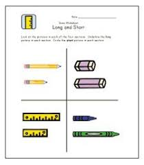 comparing objects sizes big and small printable maths worksheets