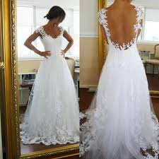 Cheap Wedding Dresses With Low Back 100 Images Shop High