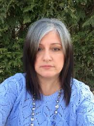 growing out gray hair march 14 2016 9 grueling months the expression on my face is